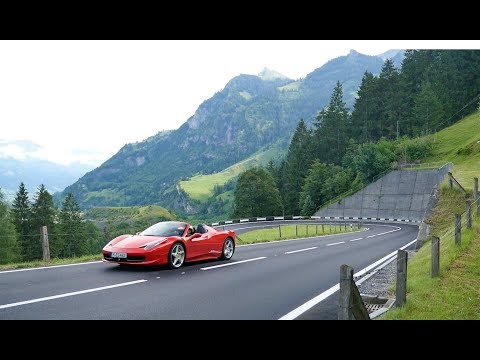 Driving a Ferrari Through Switzerland with Edel & Stark