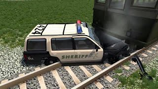 МУЛЬТИКИ ПРО МАШИНКИ АВАРИИ 2020 ПОЕЗД И МАШИНЫ опасный переезд поезд разбивает машины мультики 2020