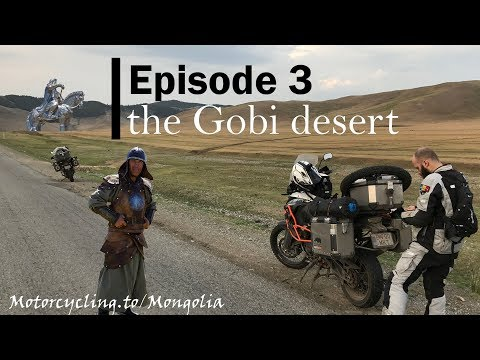 ep3 Mongolia motorcycle adventure | the Gobi desert | KTM 11