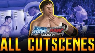 WWE SVR 2007 | Smackdown! Season Mode All Cutscenes Full Movie PS3/Xbox 360 1080p