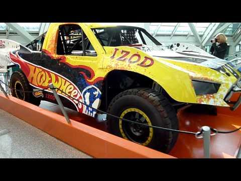 Hot Wheels World Record Jump Car- 2011 LA Auto Show