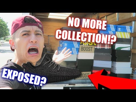 THEY TOOK MY SNEAKER COLLECTION!?   EXPOSED MY FAKE YEEZYS!