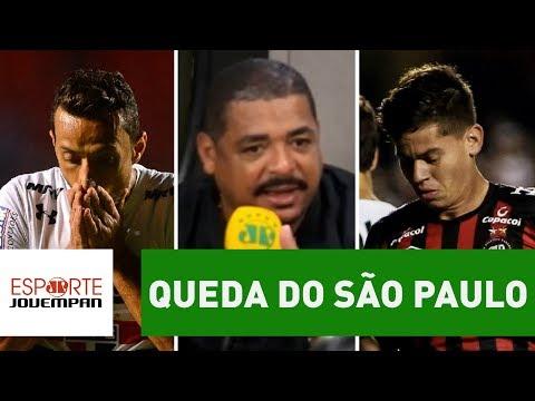 O que VAMPETA achou da queda do São Paulo na Copa do Brasil?