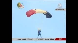 فيديو.. الأعلام العربية تزين سماء احتفالات أكتوبر