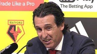 Watford 0-1 Arsenal - Unai Emery Full Post Match Press Conference - Premier League