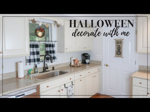 Halloween + Fall Decorate With Me 🎃 Halloween + Fall Home Decor Ideas