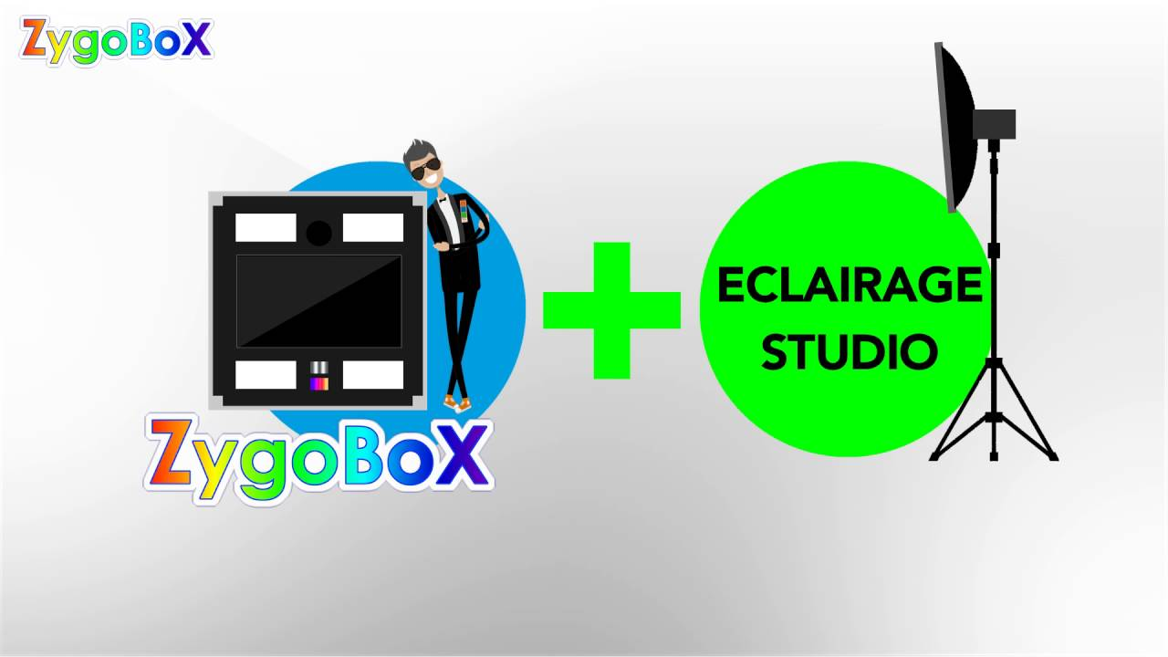 4 Photomaton Avec Eclairage Et Fond De Studio Youtube