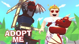 NEW CASTLE IN ADOPT ME FOR DRAGONES 🐉 - ROBLOX ADOPT ME