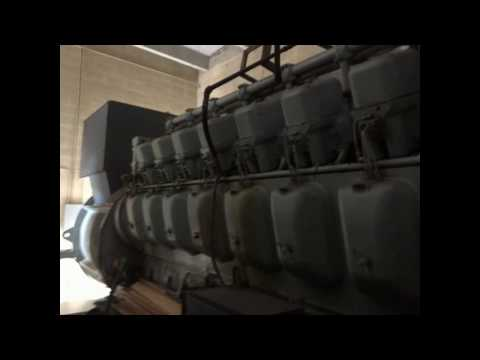 ALCO GENERATOR FOR SALE DIESEL ENGINE  2500 KW MODEL 251F16GS AT 1200 RPM CW ROTATION for sale
