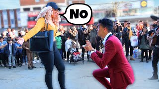 Proposing To Random Girls Until One Says YES