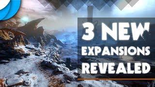 3 Expansions Revealed! (Fortuna, Railjack, The New War)   Warframe Tennocon 2018 Summary