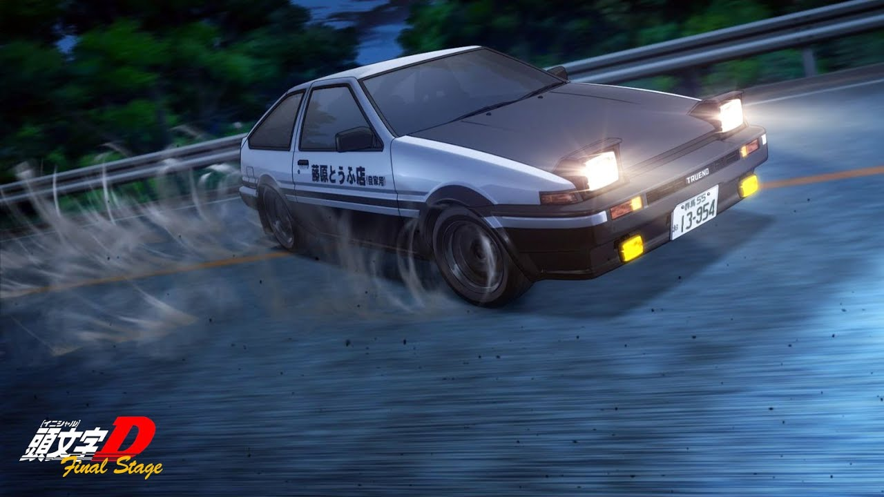Initial D - All Opening Stages