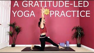 A Gratitude-Led Yoga Practice