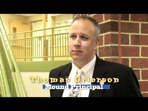 Anton Grdina and Mound Schools Ribbon Cutting