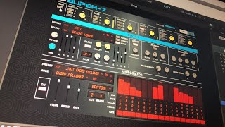 SUPER-7 by UVI - 80's Inspired Analog Synth & Drum Toolbox - Live Demo & Tutorial screenshot 5