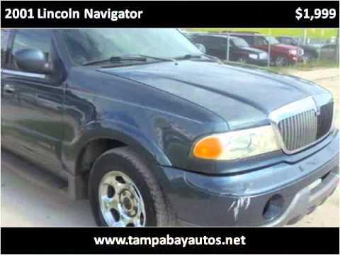 2001 Lincoln Navigator Used Cars New Port Richey FL