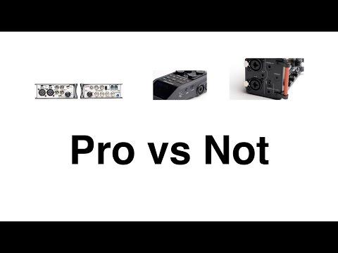 Sound Comparison: Pro Vs Enthusiast Audio Recorders