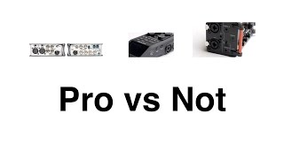 Sound Comparison: Pro vs Enthusiast Audio Recorders