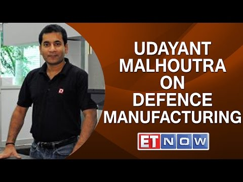Dynamatic Tech's Udayant Malhoutra On Defence Manufacturing Sector & Make In India