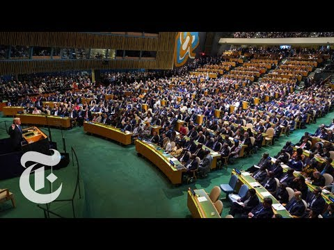 Trump's U.N. Speech Targets North Korea, Iran and Venezuela