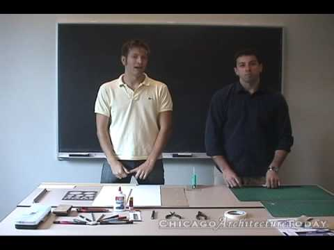 Part 1. Architectural Model Making: Tools & Materials