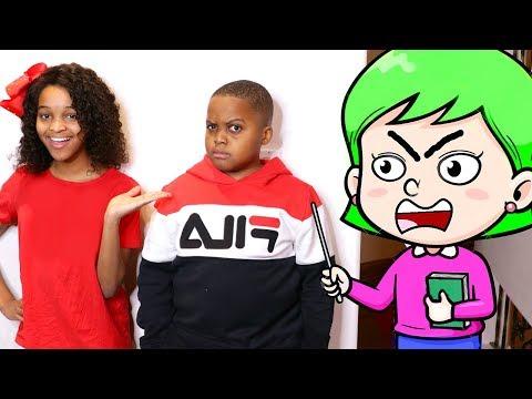 Shiloh and Shasha GET A BABYSITTER! - Onyx Kids