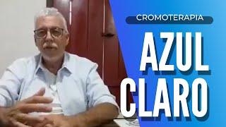 Cromoterapia | A Cor Azul Clara