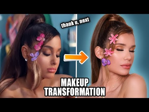 Ariana Grande - thank u, next | MAKEUP TRANSFORMATION!