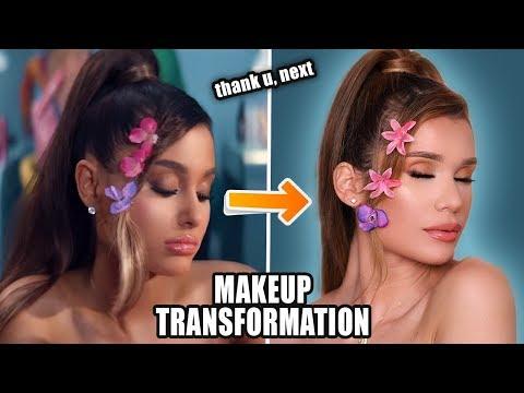 Ariana Grande - thank u, next   MAKEUP TRANSFORMATION!