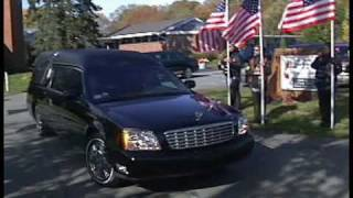 FALMOUTH, MA- Funeral for Fallen Soldier Marine Capt. Eric Jones (11-07-09)