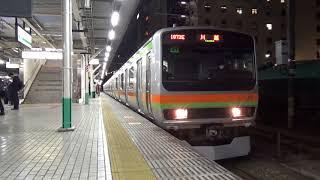 八高線E231系3000番台 八王子駅発車