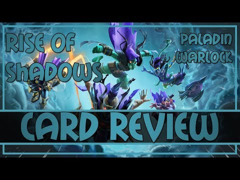 Rise of Shadows FULL card review | Paladin and Warlock Cards | Hearthstone