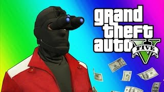 gta 5 heists 2 invisibility glitch hydra jet humane labs gta 5 online funny moments part 2