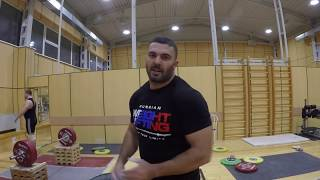 Тренировка хвата training grip