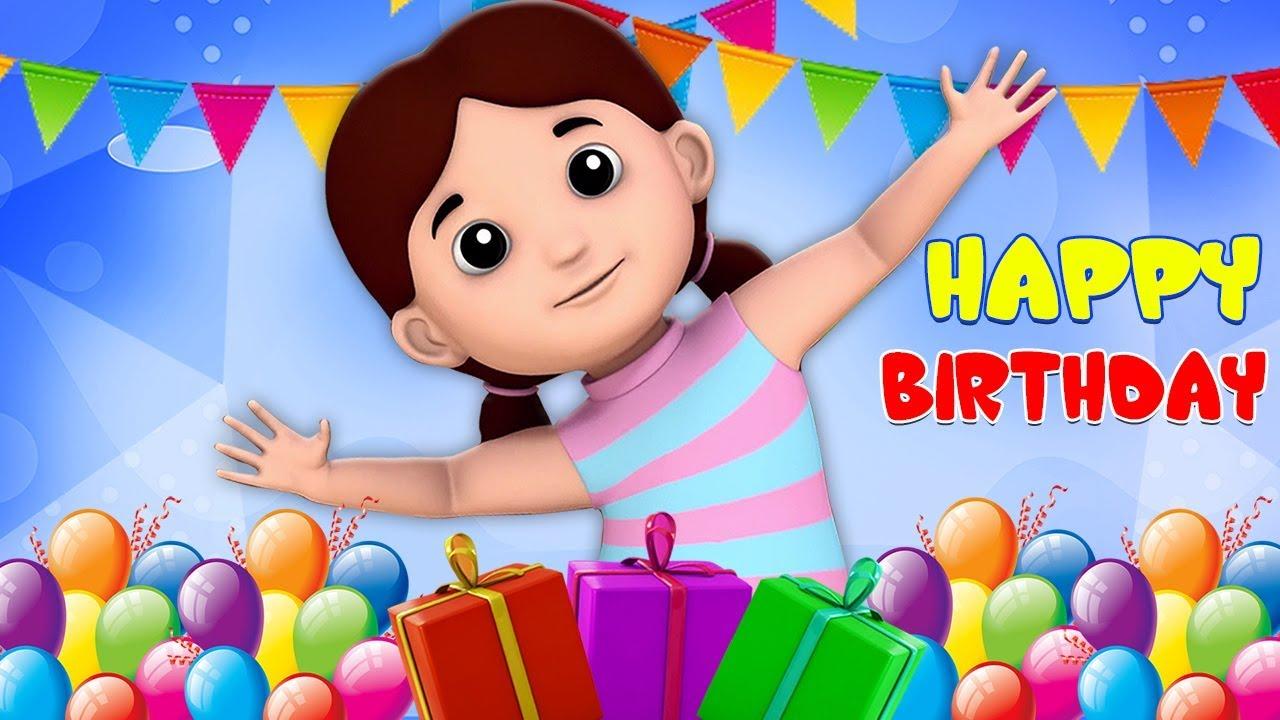 Selamat Ulang Tahun Lagu | Perayaan ulang tahun | Kids Tv Indonesia | Happy Birthday To You