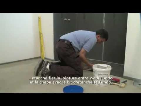 douche l 39 italienne avec les panneaux wedi youtube