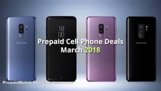 Prepaid Phone Deals March 2018