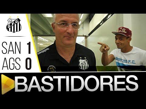 Santos 1 x 0 Água Santa | BASTIDORES | Paulistão (12/03/16)