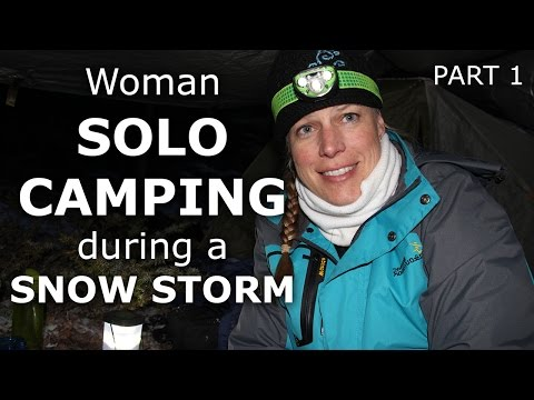 Solo Woman Camping in Colorado Snow Storm - Part 1 - Our Journey :: Episode #28