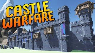 Building A Castle Empire & Leading It To Victory - Castle vs Castle Combat/Management - Village Feud