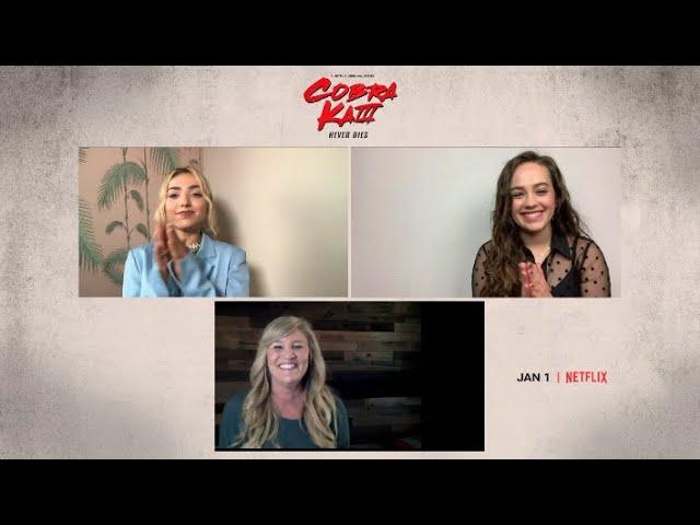 The Girls of Cobra Kai: Mary Mouser & Peyton List