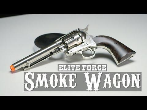 Elite Force Co2 Smoke Wagon Revolver Airsoft Pistol | AIRSOFTGI.COM
