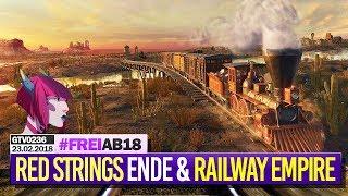 0236 🔴 Red Strings Club (ENDE) & RAILWAY EMPIRE-Kampagnen 🔴 Gronkh Livestream | 23.02.2018
