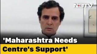 "Rahul Gandhi: ""We Aren't Key Decision-Maker In Maharashtra"" | Coronavirus Crisis"