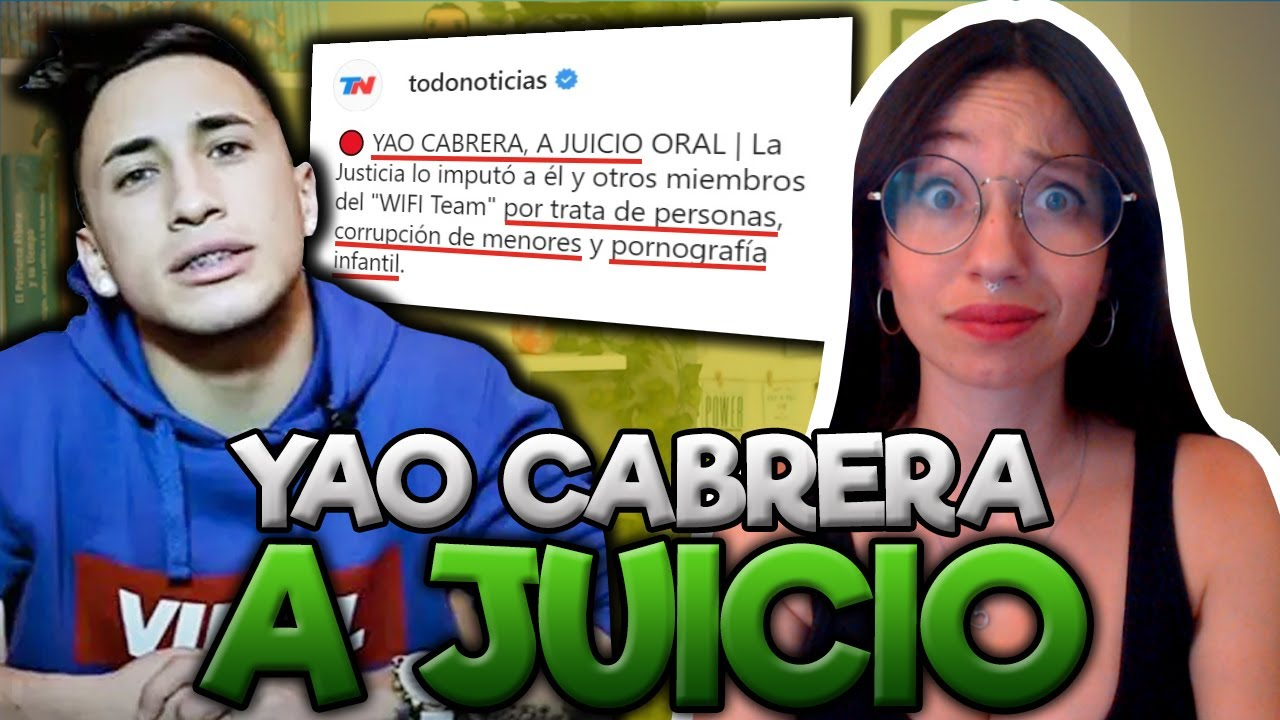 ABOGADA REACCIONA: YAO CABRERA a JUICIO por TRATA DE PERSONAS