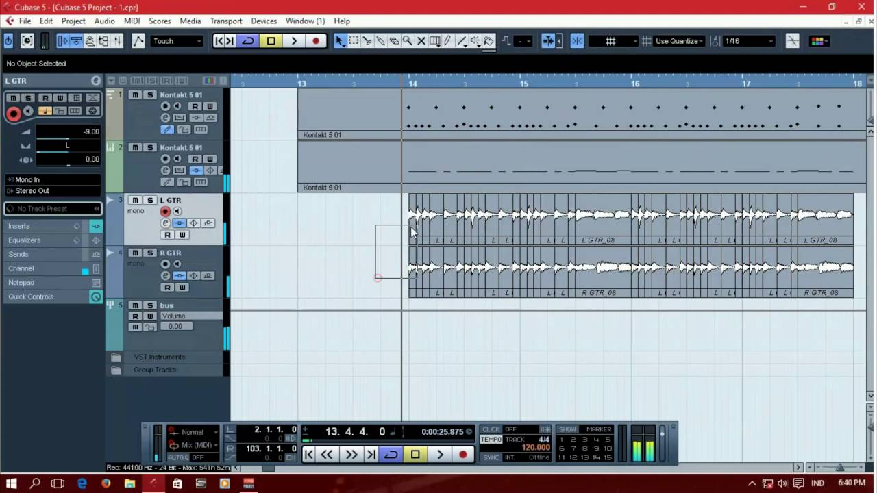cubase 5 tutorial how to get tight metal guitar for breakdown rh youtube com