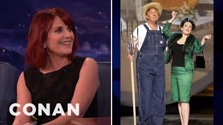 Megan Mullally's Emmys Duet With Donald Trump  - CONAN on TBS