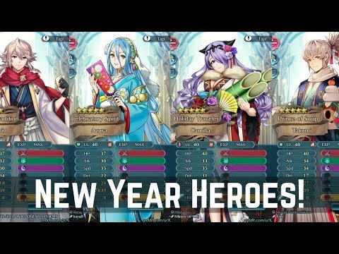 New Years Heroes Leaked - Stats Released! First Impressions! | FEH News 【Fire Emblem Heroes】