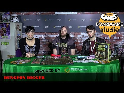 [Lucca Comics & Games] Boardgame Studio: Dungeon Digger