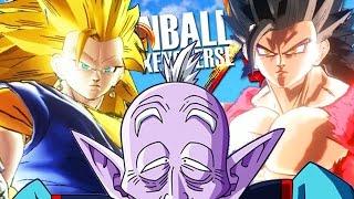 Dragon Ball Xenoverse Mods - SSJ3 VEGITO, SSJ4 GOHAN, ELDER KAI
